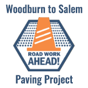 Woodburn to Salem Paving Project website