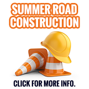 Learn more about summer road construction.