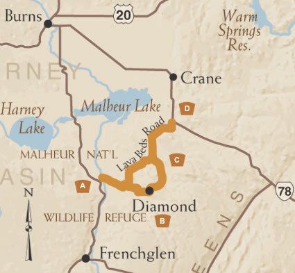 The Diamond Loop Tour Route Tripcheck Oregon Traveler Information