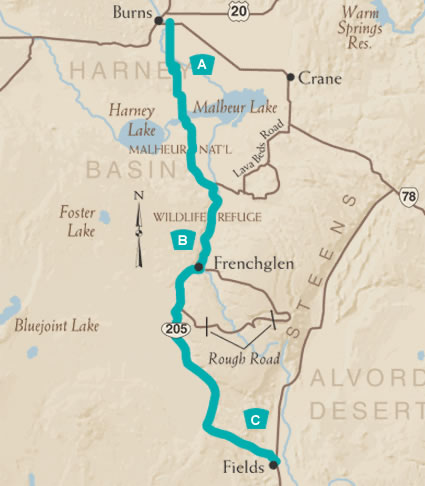 High Desert Discovery Map