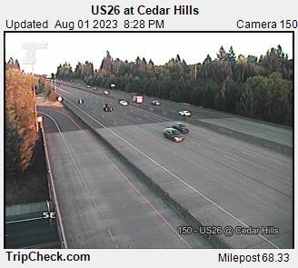 Hwy 26 at Cedar Hills