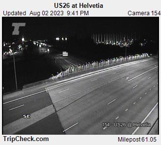 Hwy 26 at Helvetia