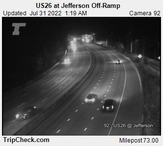 Hwy 26 at Jefferson Off-ramp