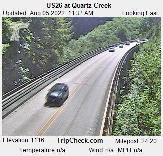 Oregon Coast Highway 101 Road Conditions, Traffic - Coast Range Passes