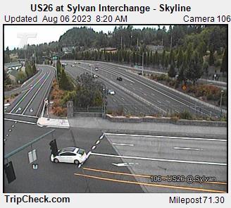 Hwy 26 at Sylvan Interchange