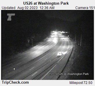 US 26 Washington Park Portland