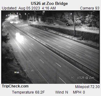 Hwy 26 at Zoo Bridge
