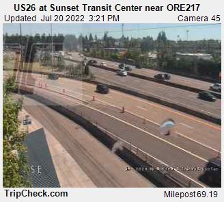 Hwy 26 at Sunset Transit Center