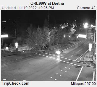 Hwy 99 at Bertha