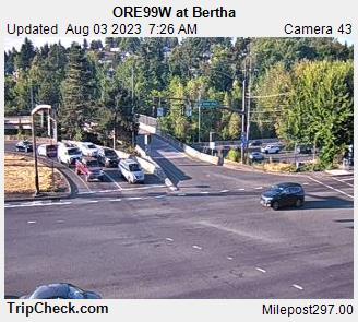 ORE99W at Bertha