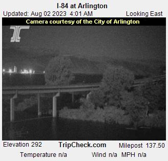I-84 at Arlington