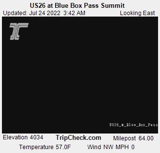 Blue Box Pass Summit Webcam - Hood River, OR