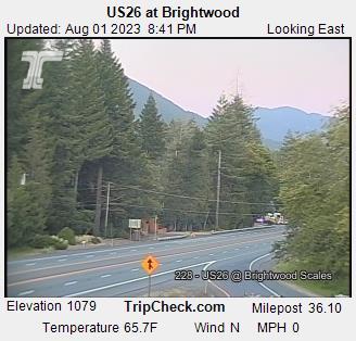 RaodCam - US26 at Brightwood E/B