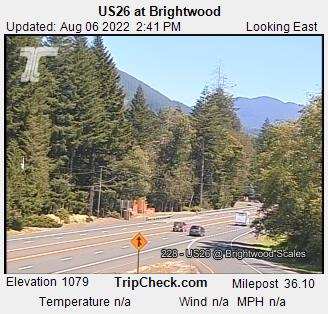Hwy 26 at Brightwood