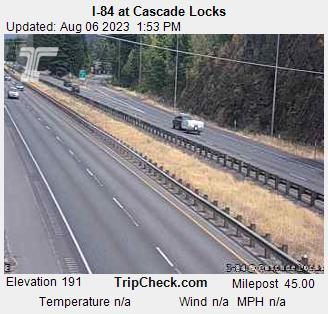 I-84 at Cascade Locks