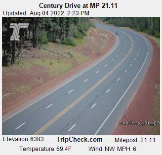Century Drive At Mp 21 11 Oregon Road And Traffic Cam