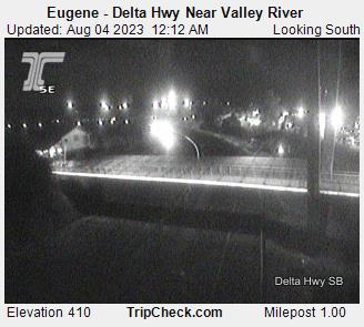 Delta Hwy at Valley River
