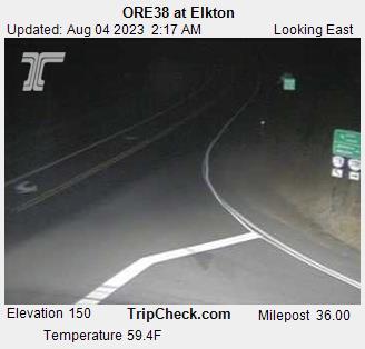 Hwy 38 at Elkton