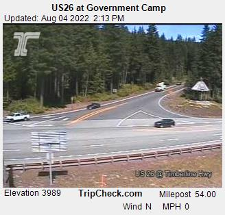 ODOT Government Camp Camera