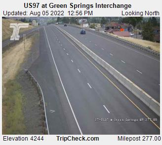 US97 at Green Springs