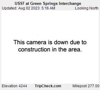 Hwy 97 at Green Springs Interchange