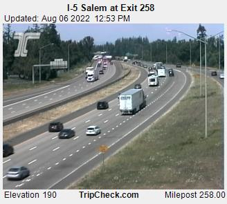 Road Cam: I-5 North Salem (MP258)
