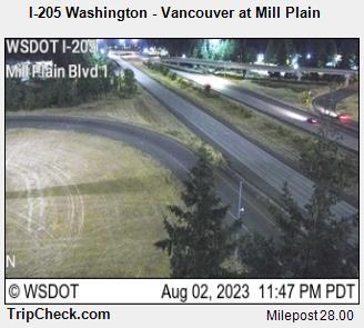 I-205 at Mill Plain
