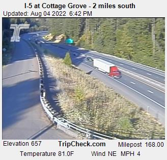 I5 at Cottage Grove
