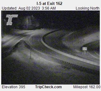 I-5 at Exit 162 (looking north)