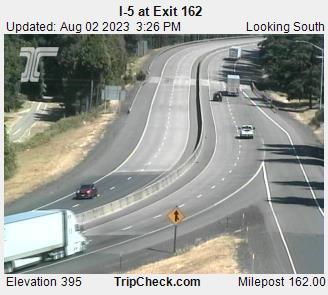 I-5 at Exit 162 (looking south)