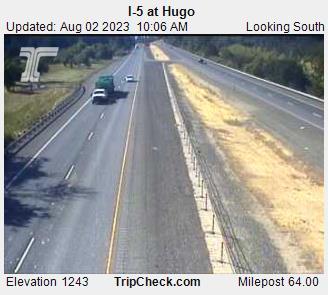 I-5 SB at Hugo