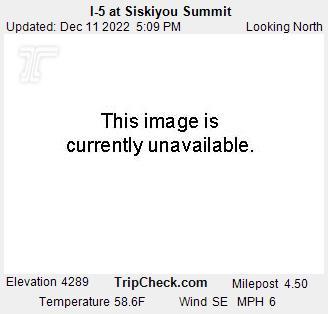 I-5 at Siskiyou Summit