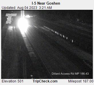 I-5 at Goshen