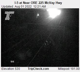 I 5 At Near Ore 225 Mcvay Hwy Oregon Road And Traffic Cam
