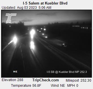 I-5 South Salem mile 252