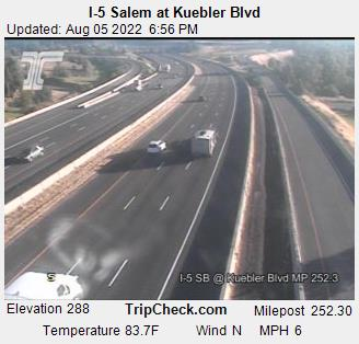 I-5 Road Cam @ Kuebler Road, South Salem