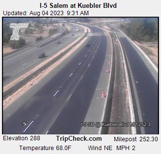 I-5 at Kuebler Road - South Salem
