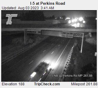 I-5 at Perkins Road