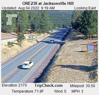 Hwy 238 at Jacksonville Hill (looking east)