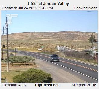 Hwy 95 at Jordan Valley