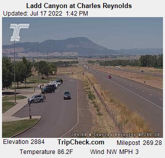 Ladd Canyon at Charles Reynolds