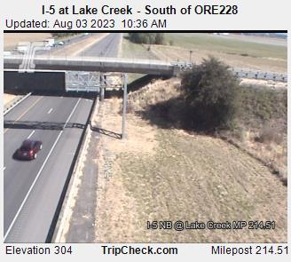 I-5 Lake Creek mile 214