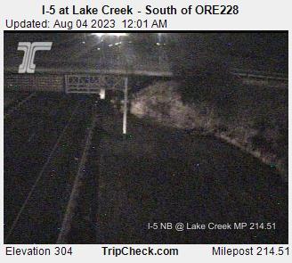 I-5 at Lake Creek