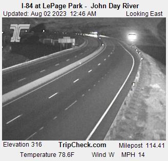 I-84 at LePage Park - John Day River