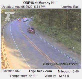Hwy 18 at Murphy Hill