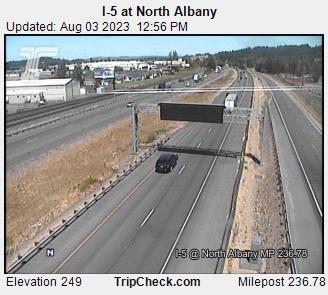 I-5 - North Albany