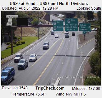 Highway 20 & Highway 97 Webcam - Bend, OR