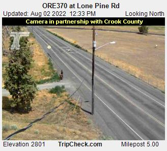 Ore370 At Lone Pine Rd Oregon Road And Traffic Cam