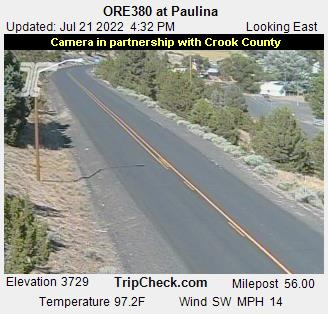 RoadCam - ORE380 at Paulina