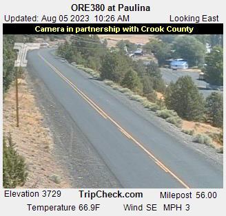 Hwy 380 at Paulina
